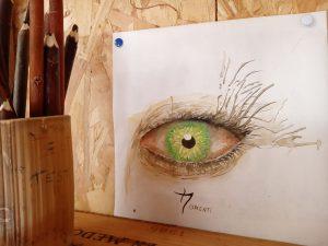 atelier du crayon aquarelle