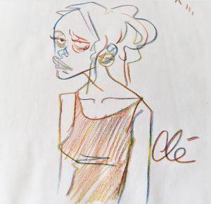 Crayon Magique - Dédicace Clé dessin d'humour Labouheyre 2018