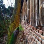 crayons en bois et grange landaise