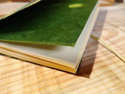 papier vergé crème