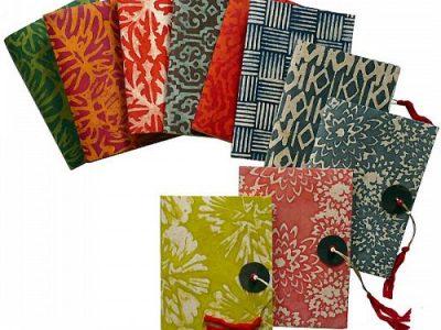 10 motifs carnet lokta