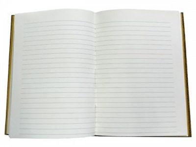 carnet de note avec ligne 160 pages